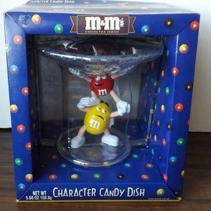 M&M's candy dish (#EV739)
